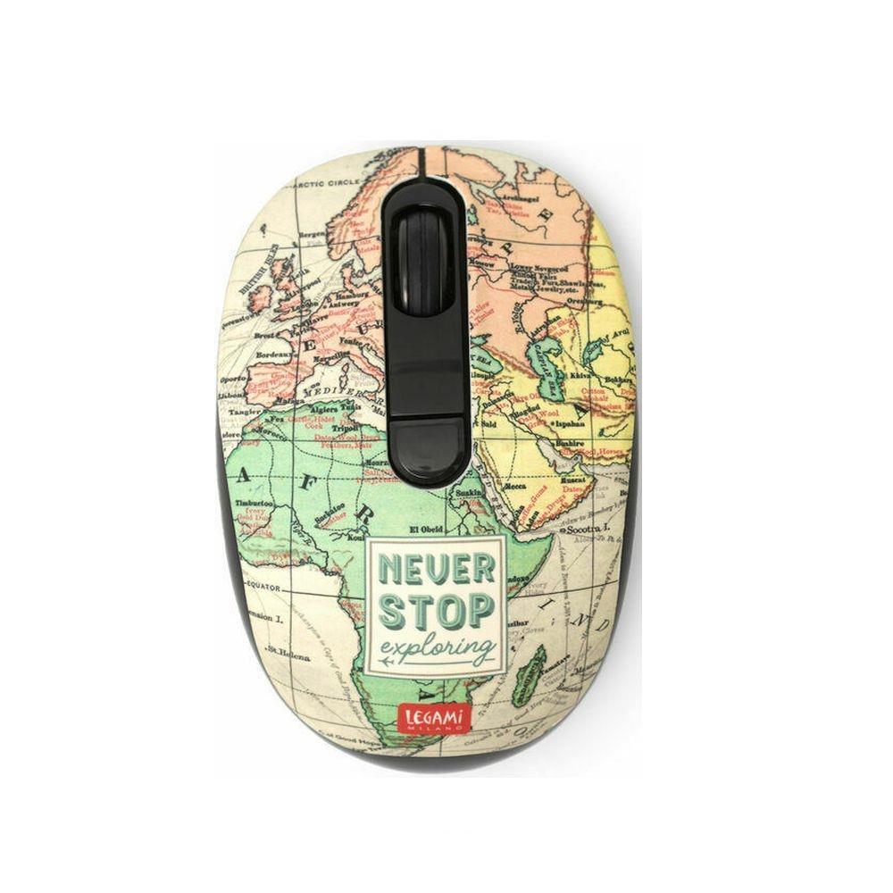 Ποντίκι ασύρματο Legami travel WMO0001