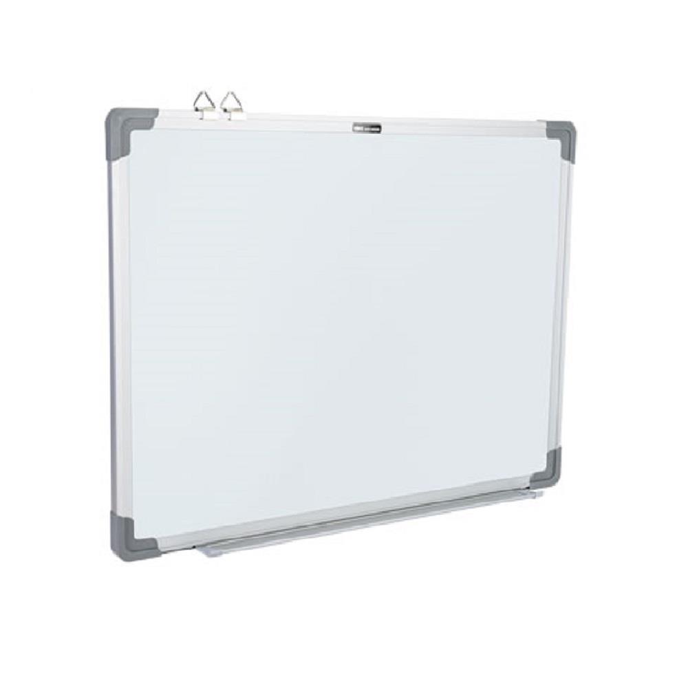 Πίνακας λευκός 45x60 cm μαγνητικός πλαίσιο αλουμινίου