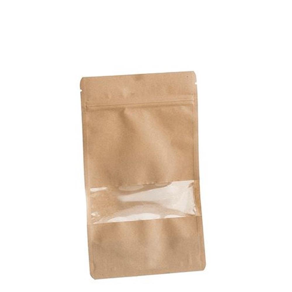 Σακουλάκι χάρτινο Efco με zip 13x22,5 cm