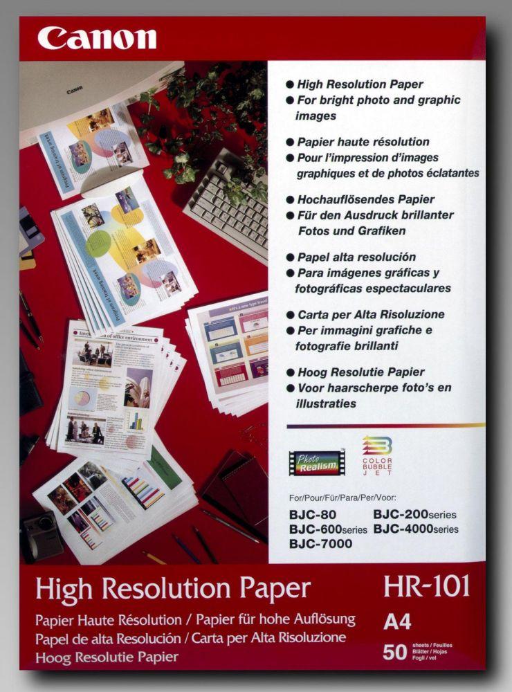 High Resolution Paper Canon HR-101N A4 200Shts 106g