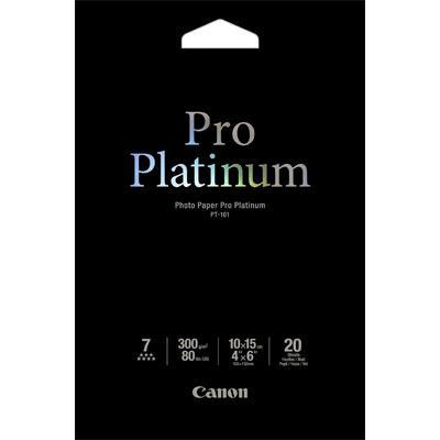 Paper Canon Pro-Platinum PT-101 10X15 20Shts 300gr