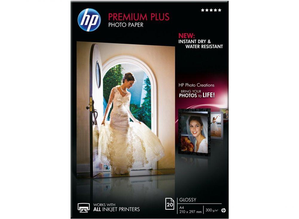 Premium Plus Glossy Photo Paper HP A4 20Shts - (210x297mm)