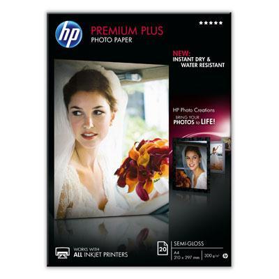 Premium Plus Photo Paper HP Semi Gloss A4 20Shts