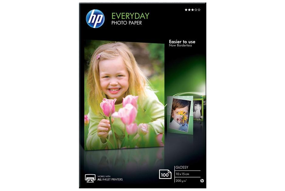 Everyday Glossy Photo Paper HP A6 (10X15cm) 100Shts