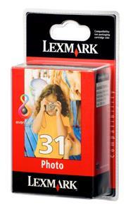 No 31 Ink Lexmark 18C0031E Photo 125Photos 10x15