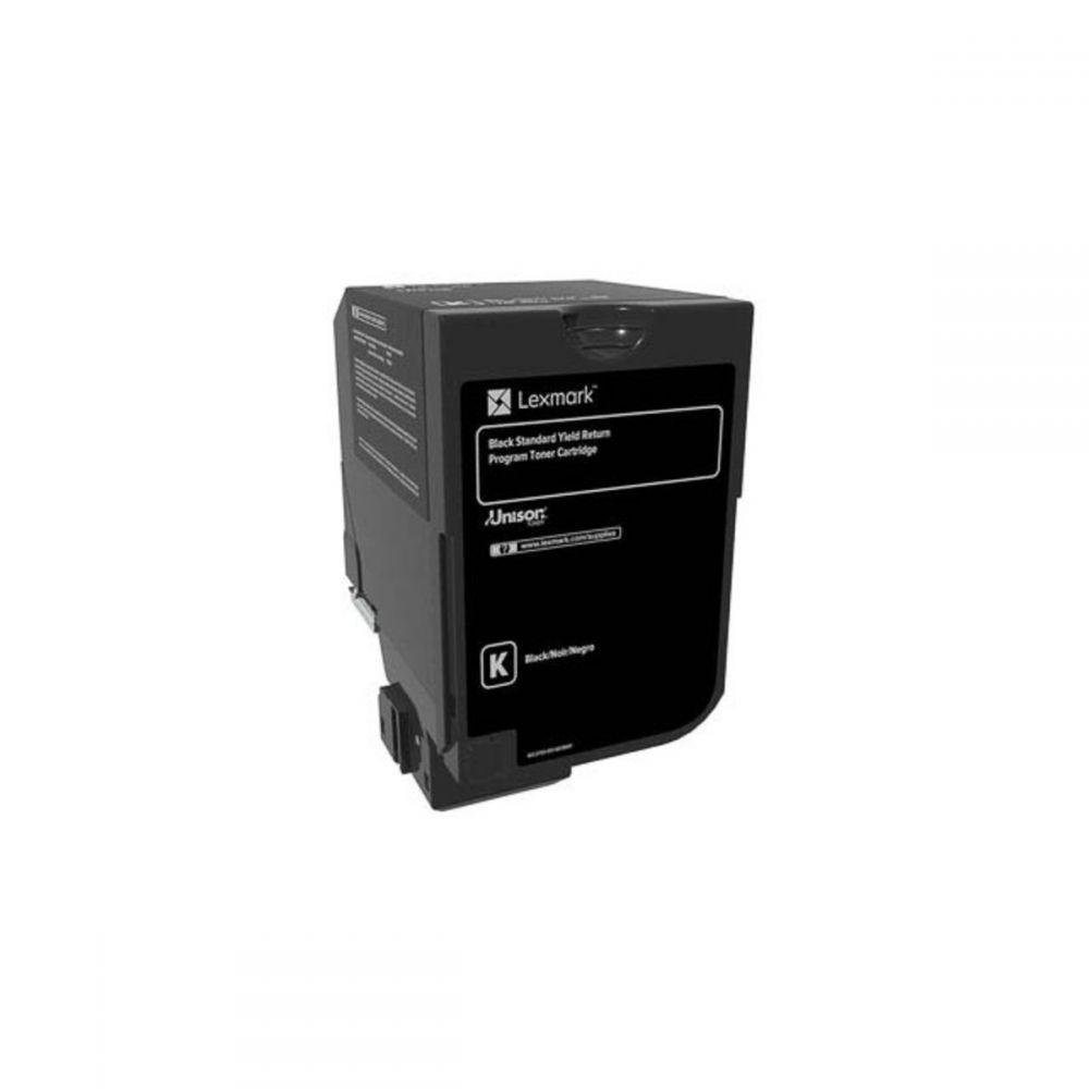 Toner Laser Lexmark 74C2SK0 Black -7k Pgs