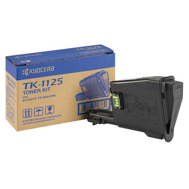 Toner Laser Kyocera Mita TK-1125 Black 2.1K Pgs