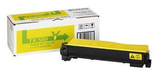 Toner Laser Kyocera Mita TK-550Y Yellow - 5K Pgs