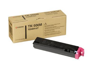Toner Magenta Laser Kyocera TK500M 8k