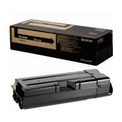 Toner Laser Kyocera Mita TK-6705 Black - 70K Pgs