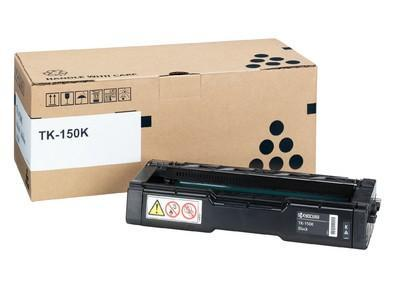 Toner Laser Kyocera Mita TK-150BK Black - 6.5K Pgs