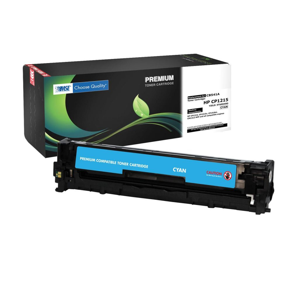 MSE HP Toner LJ Color CP1215 Cyan