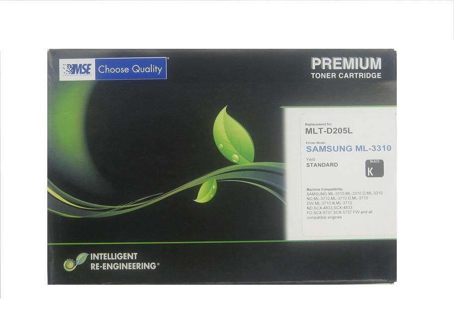 MSE Samsung Laser Toner and Drum MLT-D205L Black 5k