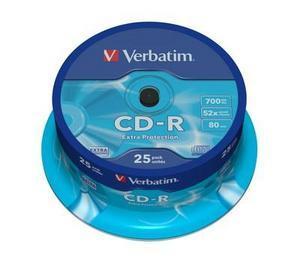 CD-R VERBATIM 43432 700MB 52X EXTRA PROTECTION SURFACE