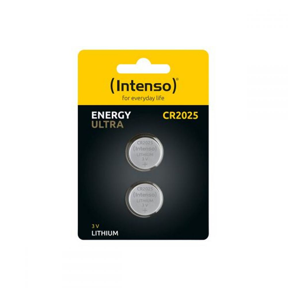 Intenso Batteries button cell Ultra Energy CR2025 2pcs 7502422