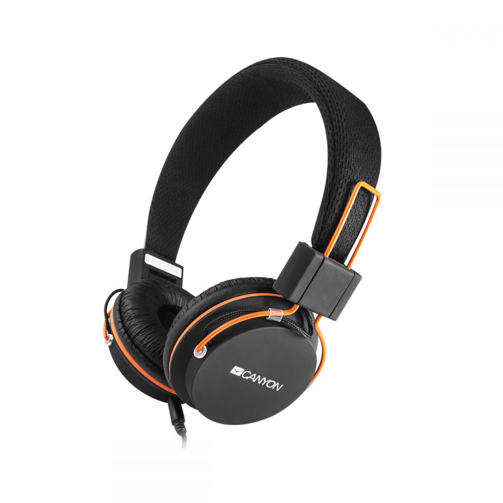 Canyon Foldable headphones with 3.5mm jack- CNE-CHP2