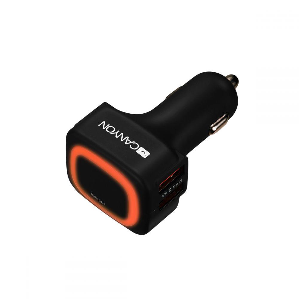 Canyon Dual USB Car Charger, 4.8A - CNE-CCA05B