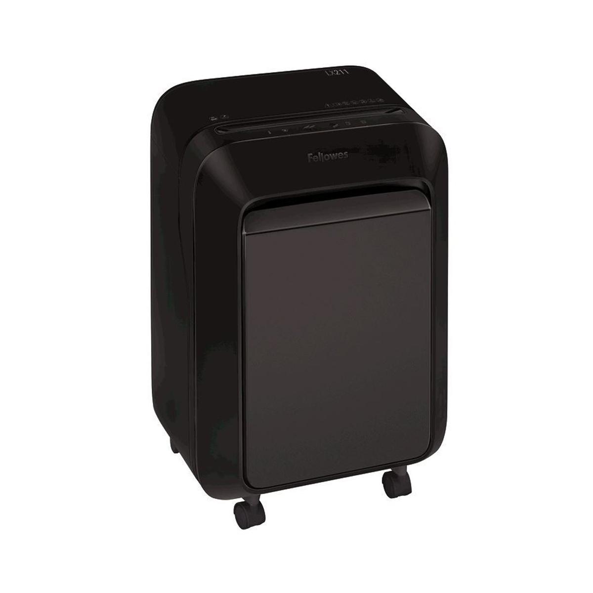 Fellowes Powershred® LX211 Micro-Cut 5050201 Black