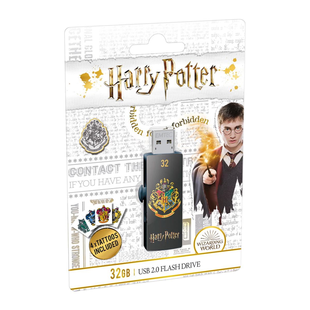 Emtec Flash USB 2.0 M730 Harry Potter Hogwarts 32GB - ECMMD32GM730HP05