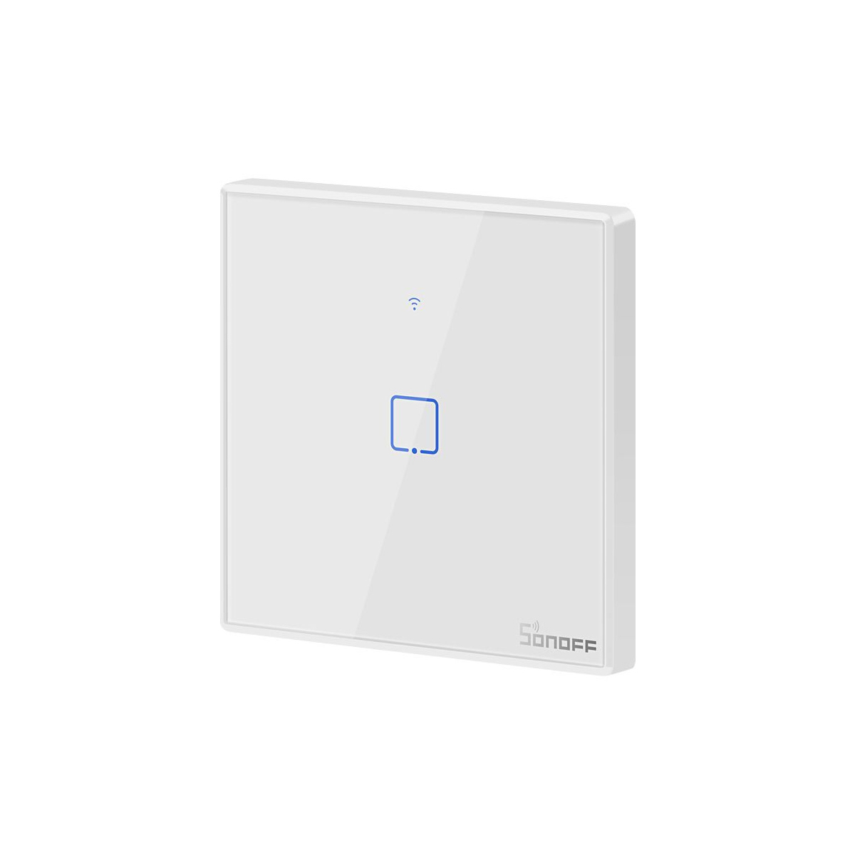 Sonoff T2EU1C-TX Single-channel Touch Light Switch Wi-Fi, Χωνευτός Διακόπτης Τοίχου - IM190314015