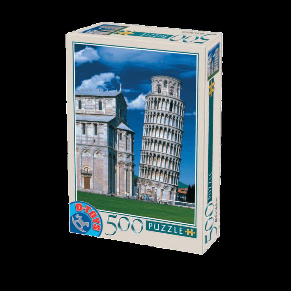 D-TOYS ΠΑΖΛ 500Τ 48x34cm TOUR DE PISE ITALIE