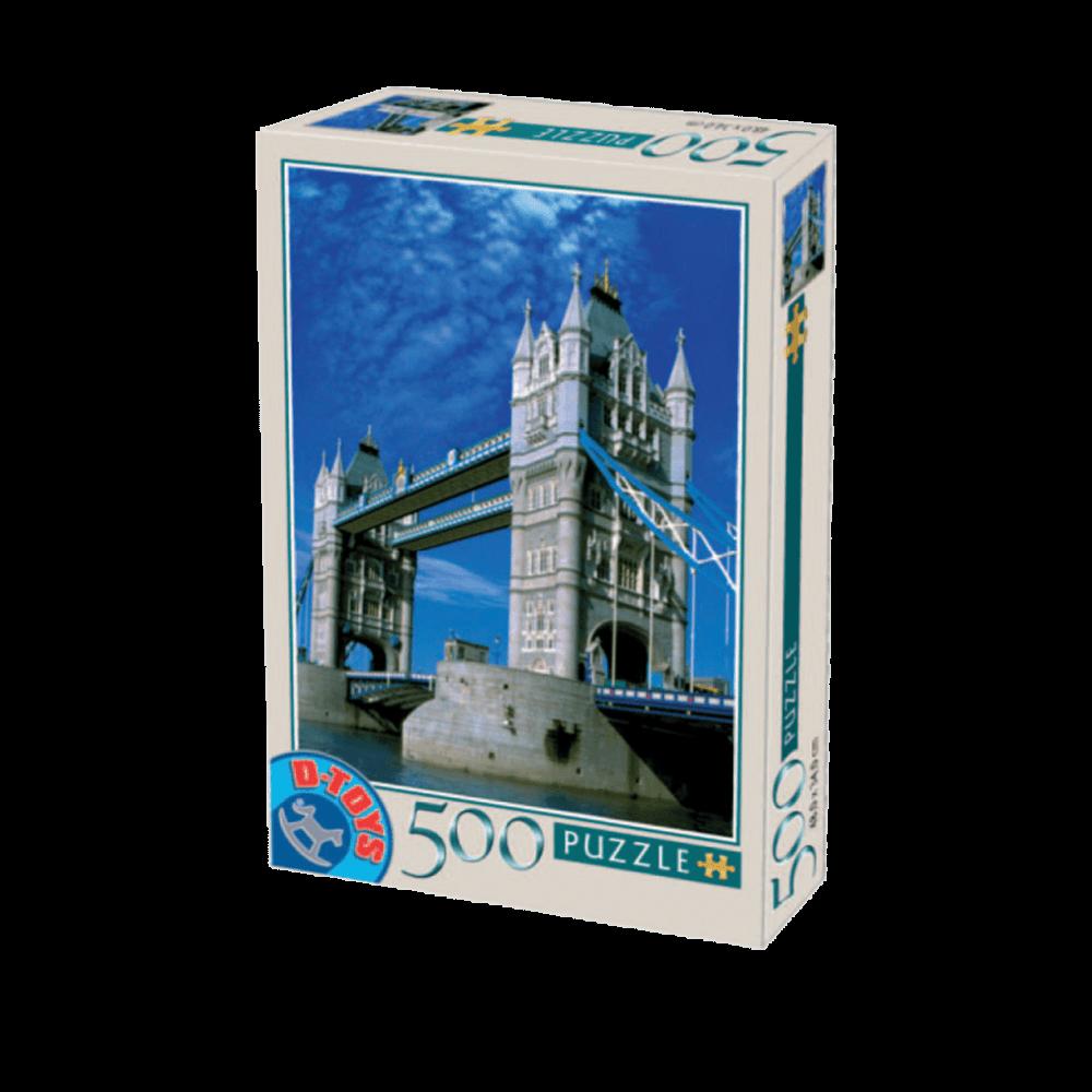 D-TOYS ΠΑΖΛ 500Τ 48x34cm TOWER BRIDGE LONDRES