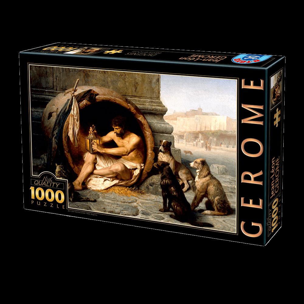 D-TOYS ΠΑΖΛ 1000Τ 68x47cm JEAN-LEON GEROME DIOGENES