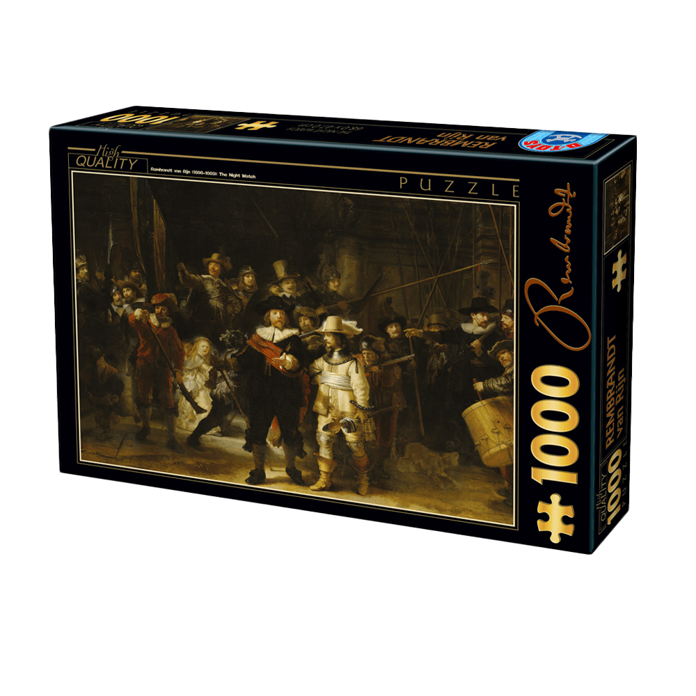 D-TOYS ΠΑΖΛ 1000Τ 68x47cm REMBRANDT - THE NIGHT WATCH