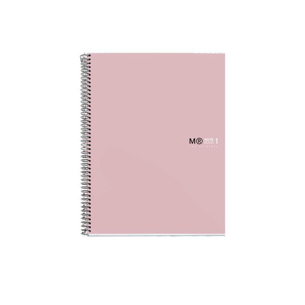MIQ ΤΕΤΡΑΔΙΟ ΡΙΓΕ ΣΠΙΡΑΛ 80Φ Α4 90gr THE ORIGINAL ANTIVIRAL 49966 SAND
