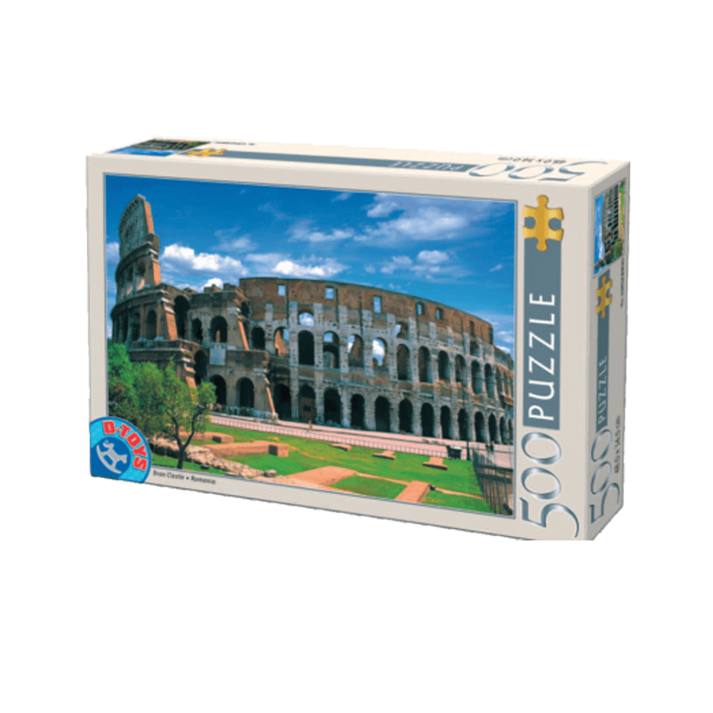 D-TOYS ΠΑΖΛ 500Τ 48x34cm COLISEE ROME