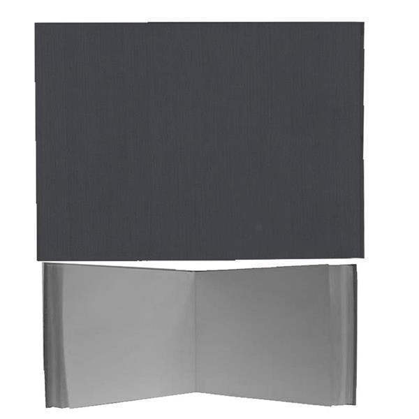 Νext βιβλίο εντυπώσεων γκρι, Α4 landscape, 80 λευκά φύλλα 120γρ.