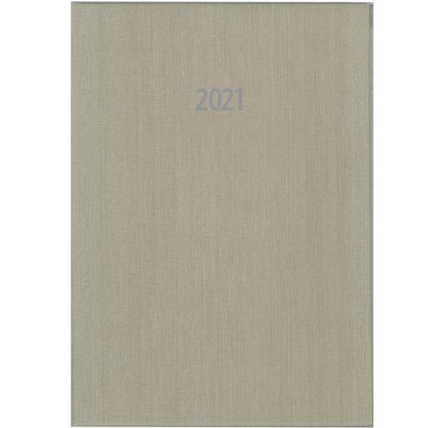 Next ημερολόγιο ημερήσιο δετό fabric μπεζ 17x25εκ.