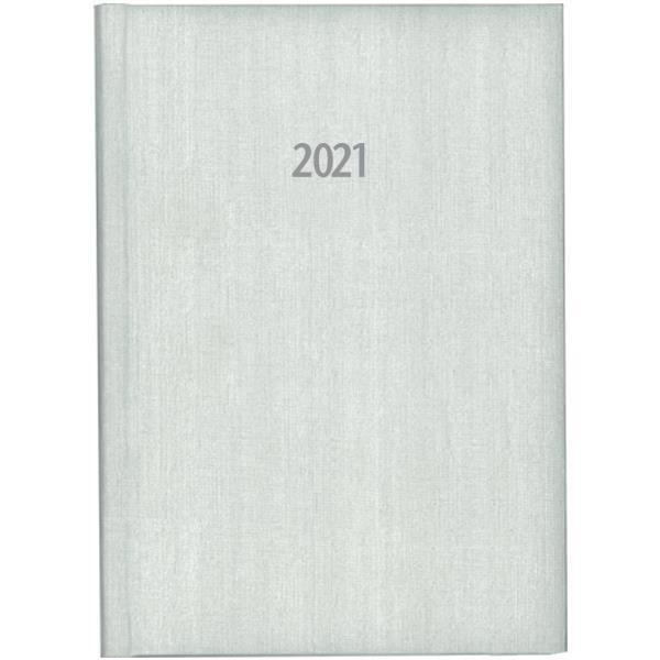 Next ημερολόγιο ημερήσιο δετό fabric λευκό 14x21εκ.