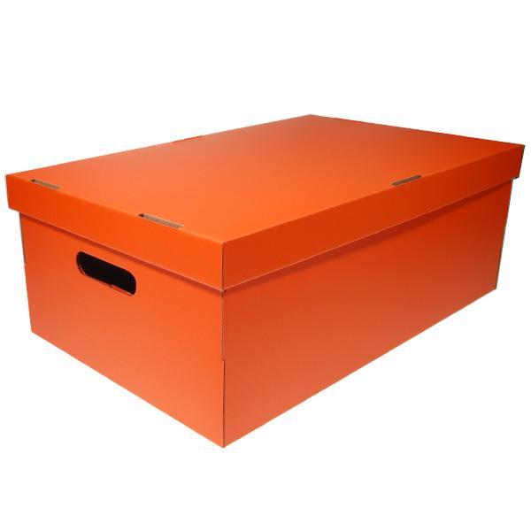 Νext κουτί colors πορτοκαλί Α3 Υ19x50x31εκ.