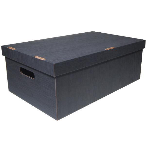 Νext κουτί fabric γκρι Α3 Υ19x50x31εκ.