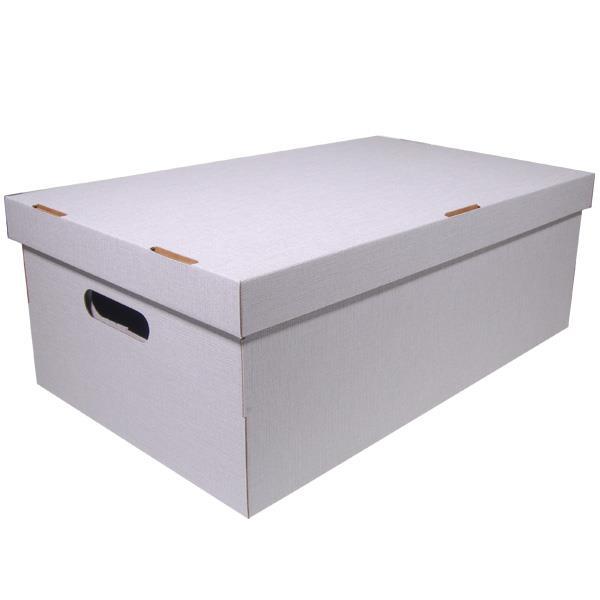 Νext κουτί nomad υπόλευκό Α3 Υ19x50x31εκ.