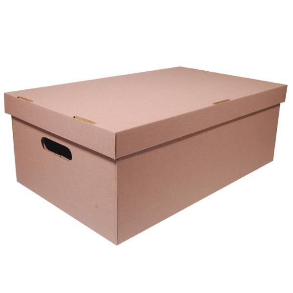 Νext κουτί nomad καφέ Α3 Υ19x50x31εκ.