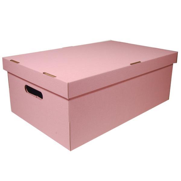 Νext κουτί nomad ροζ Α3 Υ19x50x31εκ.