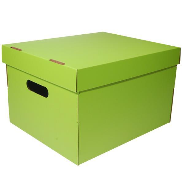 Νext κουτί colors λαχανί Α4 Υ19x30x25,5εκ.