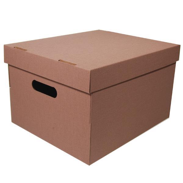 Νext κουτί nomad καφέ Α4 Υ19x30x25,5εκ.