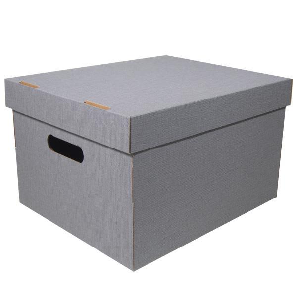 Νext κουτί nomad γκρι  Α4 Υ19x30x25,5εκ.