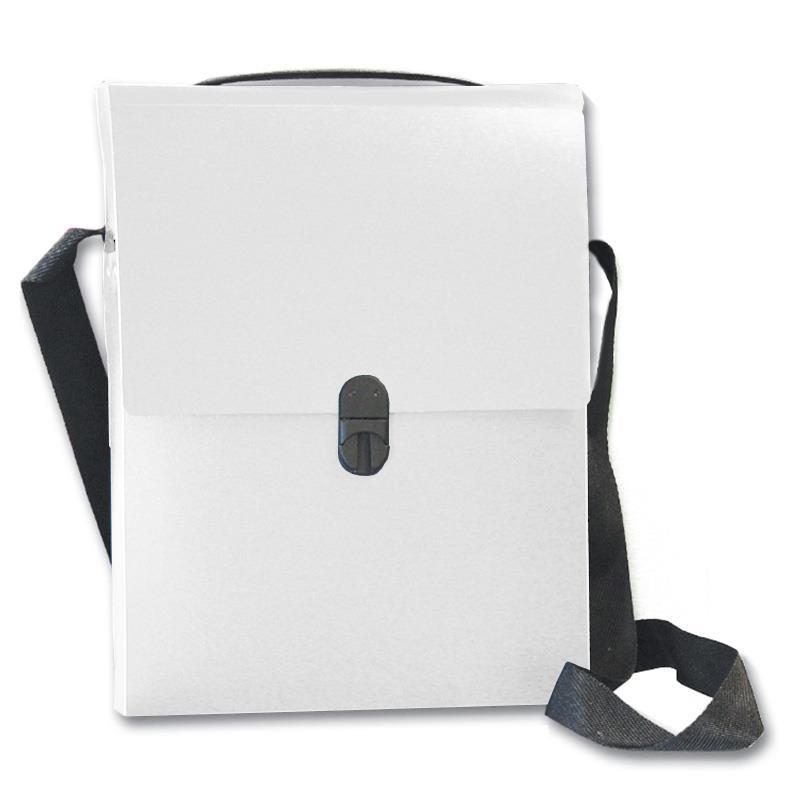 Next τσάντα συνεδρίων με ιμάντα PP διάφανη Υ32x24x5εκ.