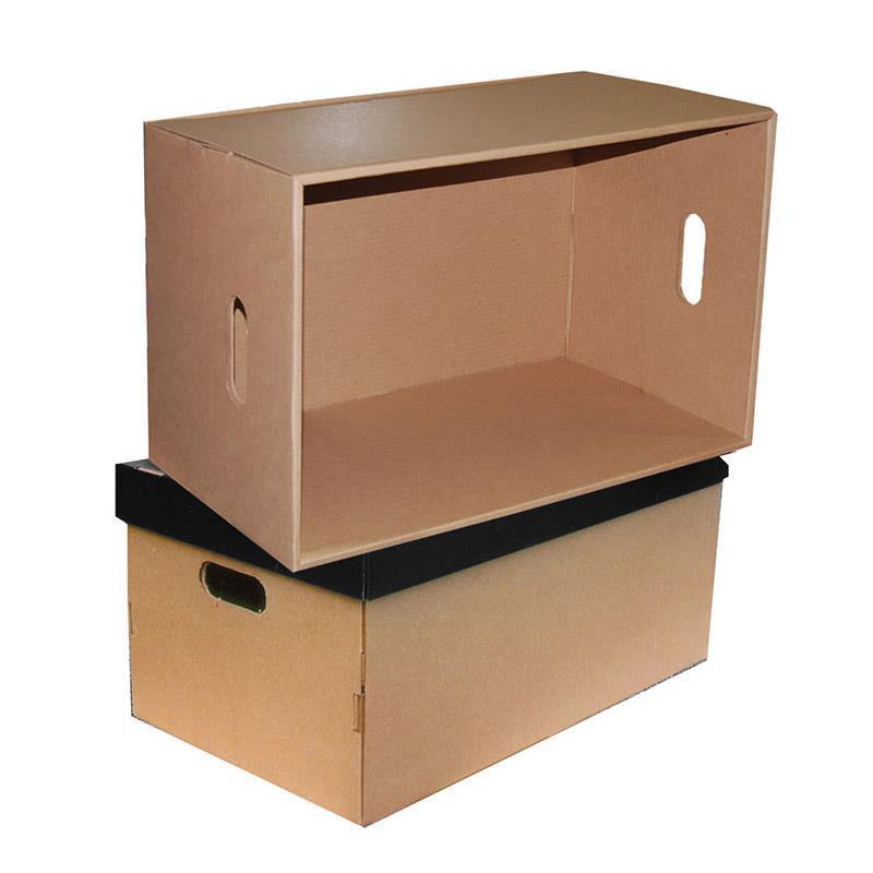 Νext big box μαύρο καπάκι Υ31x66x40εκ.