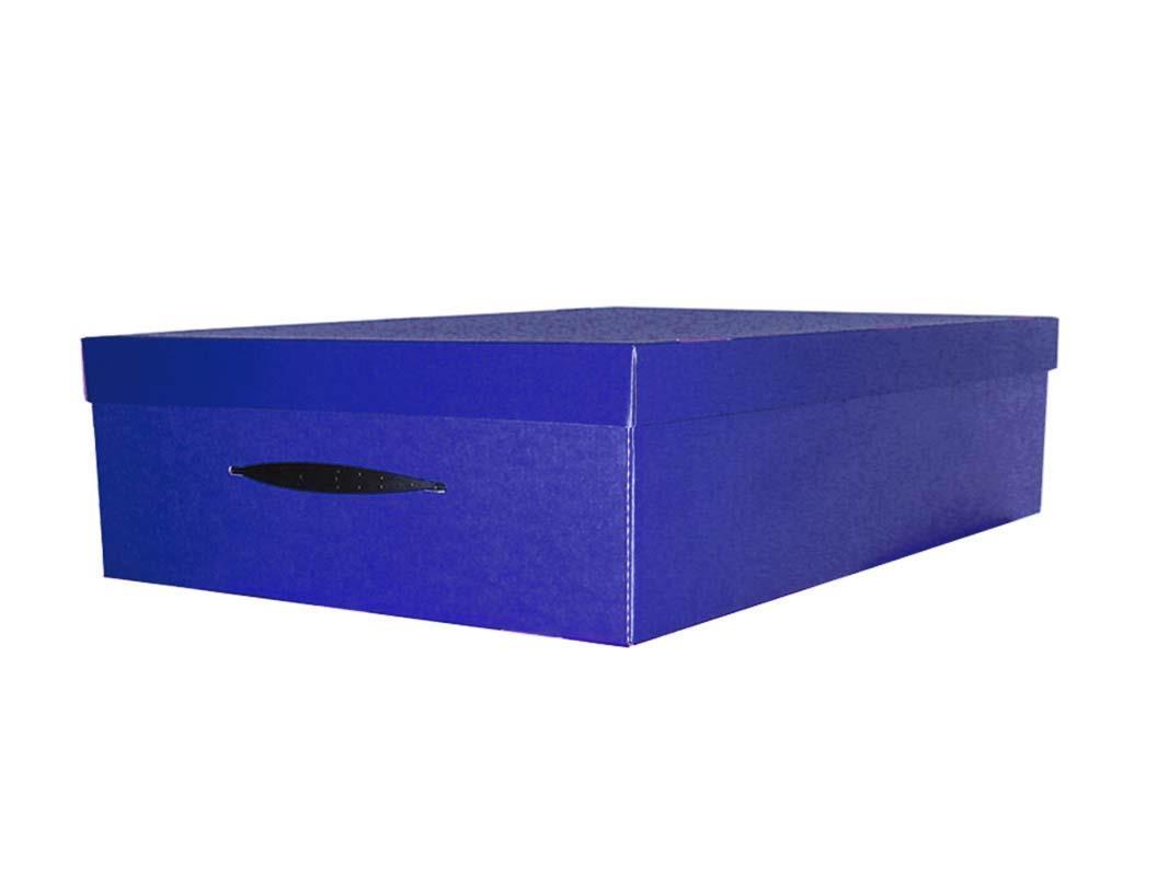 Next κουτί αποθήκευσης μπλε Υ17x46x70εκ.