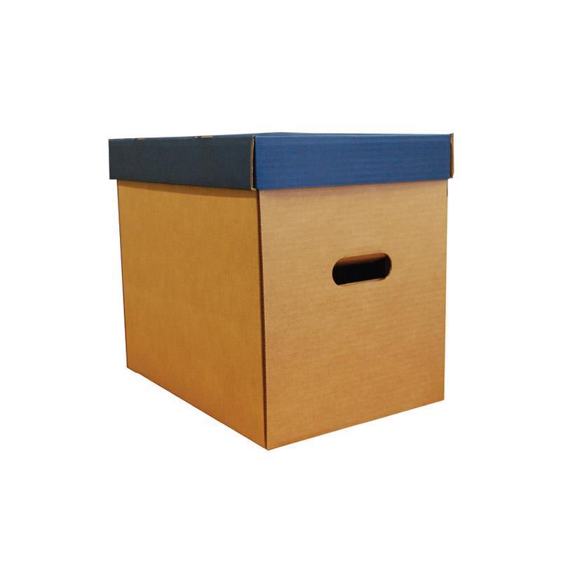 Next κουτί οικολογικό μπλε classic καπάκι Υ31x36x24,5εκ.