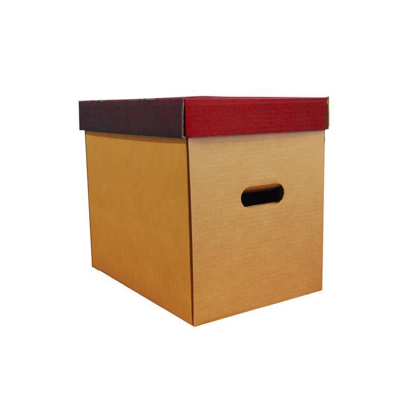 Νext κουτί οικολογικό μπορντώ classic καπάκι Υ31x36x24,5εκ.