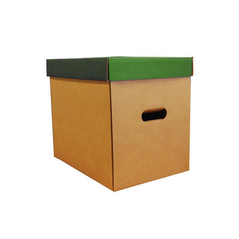 Νext κουτί οικολογικό πράσινο classic καπάκι Υ31x36x24,5εκ.