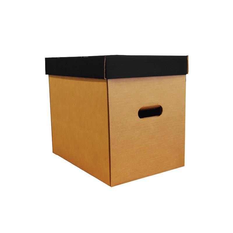 Νext κουτί οικολογικό μαύρο classic καπάκι Υ31x36x24,5εκ.