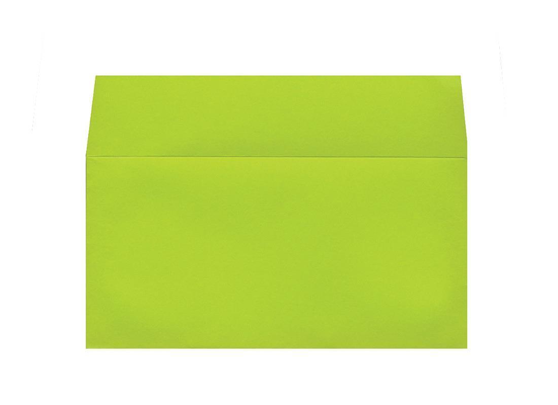 Φάκελος πολυτ. 200γρ. πράσινο 11x22εκ.  20τμχ