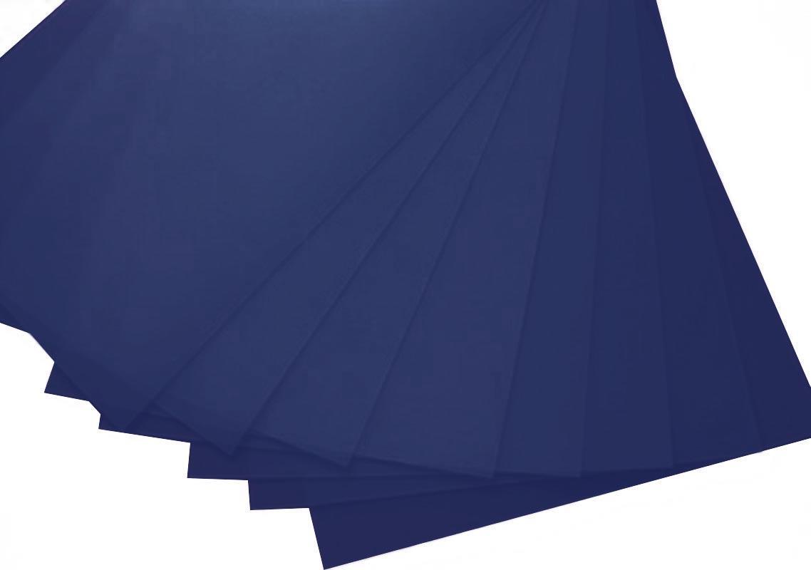 Πολυπροπυλένιο (pp) 10 φύλλα Α4 μπλε 0.7χιλ. πάχος